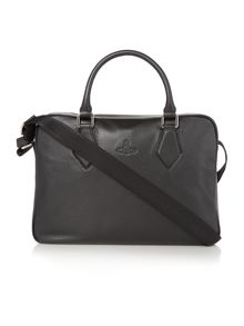 Vivienne Westwood Pebble Leather Document Bag