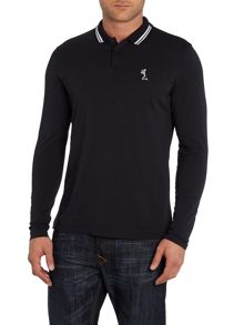 Double Tip Collar Longsleeve Polo