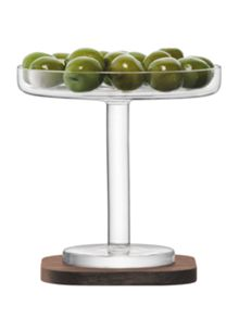 City Bar clear olive stand 12cm