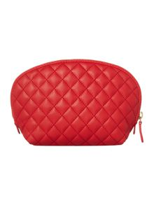 Love Moschino Quilt Red cosmetic bag