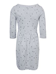 Joules Girls Star print jersey dress with corsage