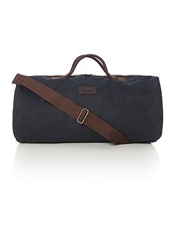Wax holdall bag