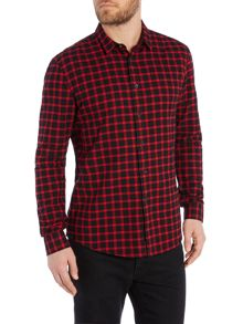 Religion Regular Fit Lumber Gingham Shirt