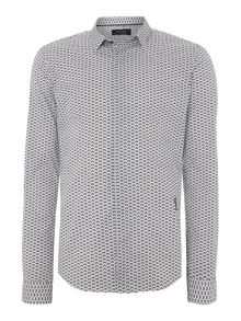 Regular Fit All Over Shirt Print Shirt
