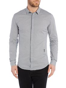 Religion Regular Fit All Over Shirt Print Shirt