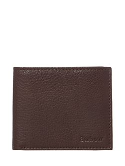 Billfold leather wallet