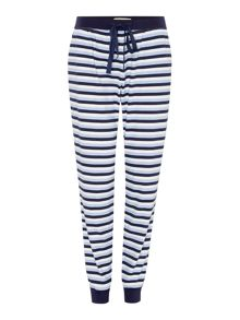 Jersey Stripe Trouser