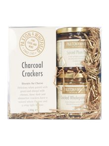 Paxton & Whitfield Crackers, Wholegrain Mustard & Chutney Set