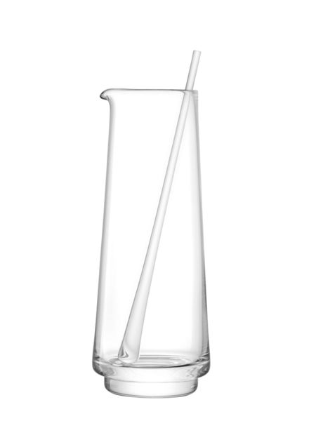 LSA City Bar clear jug & stirrer 2l