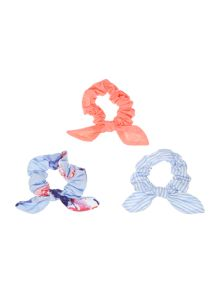 Joules Girls 3 Pack Hair Bobbles