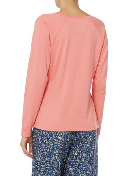 Dickins & Jones Coral Raglan Top
