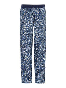 Ditsy Floral Turn Up Woven Trouser