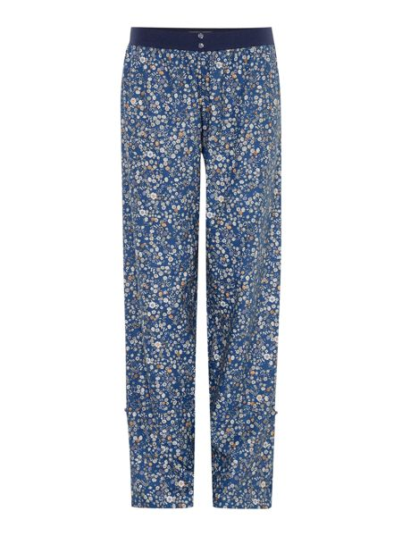 Dickins & Jones Ditsy Floral Turn Up Woven Trouser