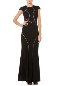 Untold Mesh cut out gown