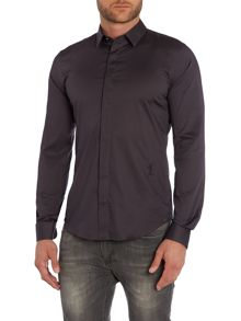 Religion Regular Fit Hidden Placket Shirt