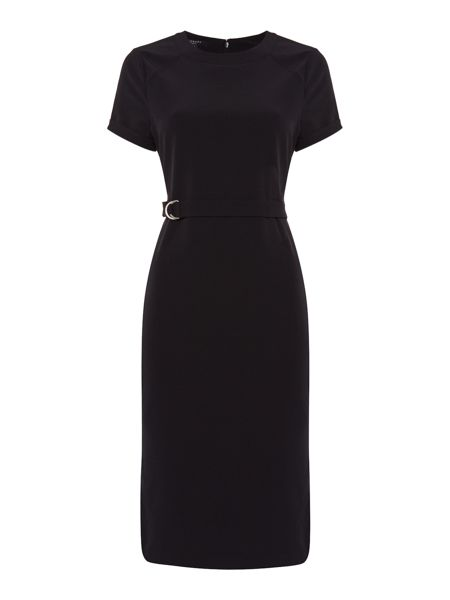 Therapy Turtle Neck Belted Dress