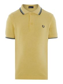 Fred Perry Boys Short Sleeve Polo