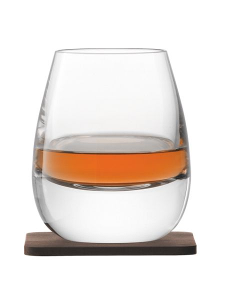 LSA Whisky Islay clear tumbler 250ml set of 2