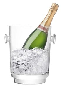 City Bar clear champagne bucket h24cm