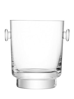 City Bar clear ice bucket