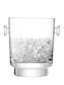 LSA City Bar clear ice bucket h18cm