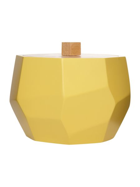 Living by Christiane Lemieux Chartreuse faceted cotton jar