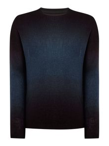Religion Lightweight Colour Fade Knitted Jumper