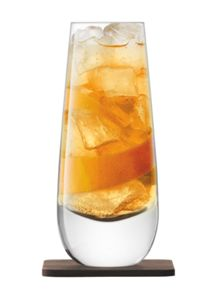 LSA Whisky Islay clear mixer glass 325ml Set of 2