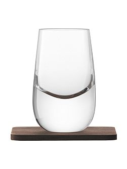 Whisky Islay clear shot glass 80ml Set of
