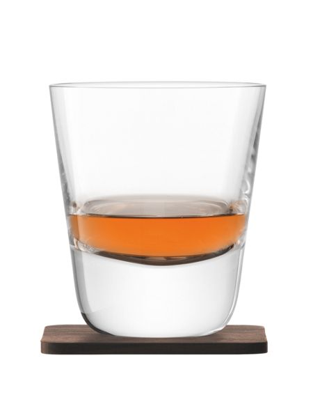 LSA Whisky Arran clear tumbler 250ml set of 2
