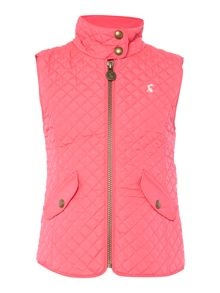 Girls Quilted padded gilet