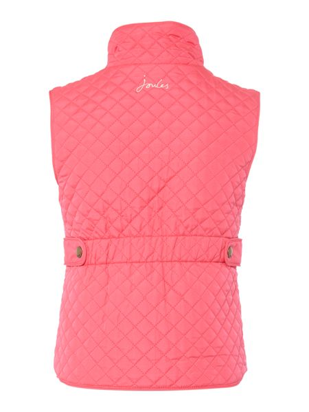 Joules Girls Quilted padded gilet