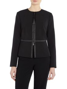 Ellen Tracy Peplum Jacket