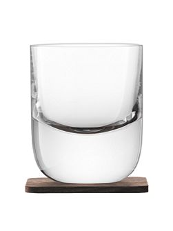 Whisky renfrew clear tumbler 270ml Set of 2