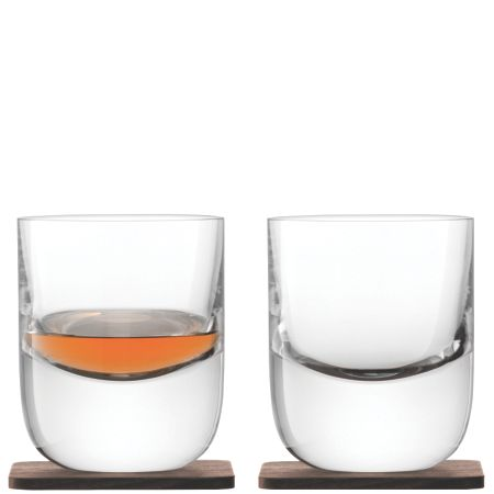 LSA Whisky renfrew clear tumbler 270ml Set of 2