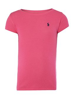 Polo Ralph Lauren Girls short sleeved crew t-shirt
