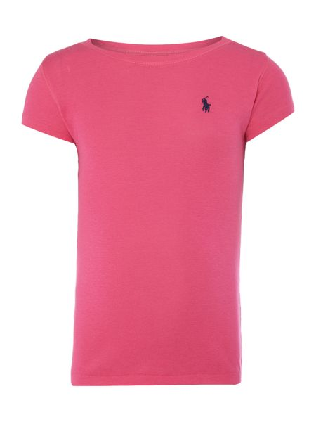 Polo Ralph Lauren Girls short sleeved crew t-shirt with small pony
