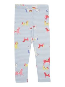 Joules Girls Horse print leggings