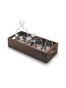 Whisky Islay Connoisseur set and tray