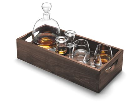 LSA Whisky Islay Connoisseur set and tray