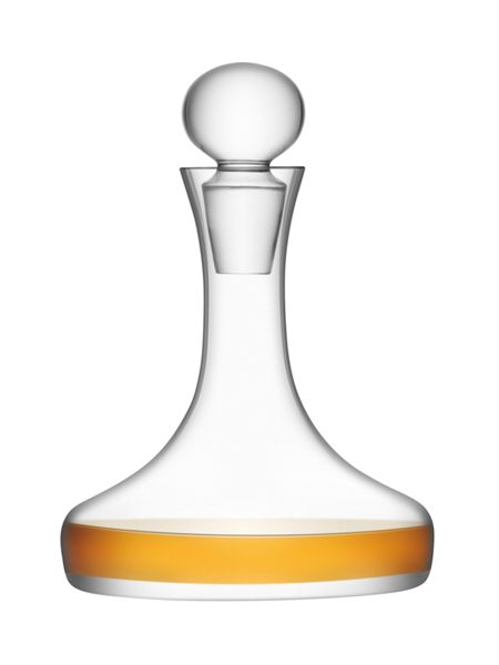 LSA Ships clear decanter 500ml