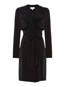 Sarah soft tailored duster coat