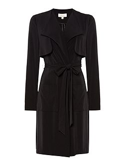 Linea Sarah soft tailored duster coat
