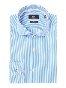 Hugo Boss Slim Fit Jery Bengal Stripe Shirt