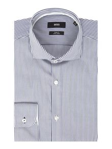 Slim Fit Jery Bengal Stripe Shirt