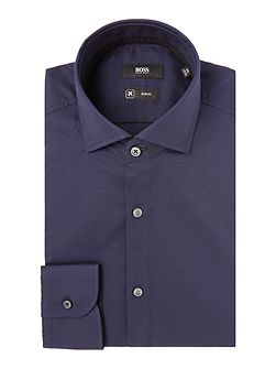Slim Fit Jery Micro Check Shirt