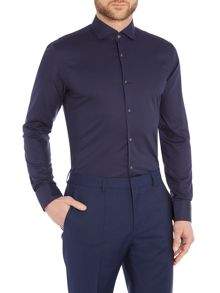 Hugo Boss Slim Fit Jery Micro Check Shirt
