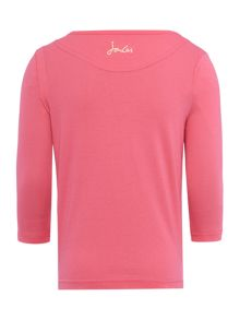 Joules Girls Fur ball logo top