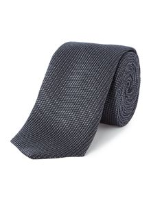 Hugo Boss Tonal Check Silk Tie