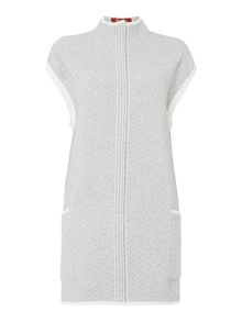 Max Mara Ulvio zip-up knitted gilet with pockets